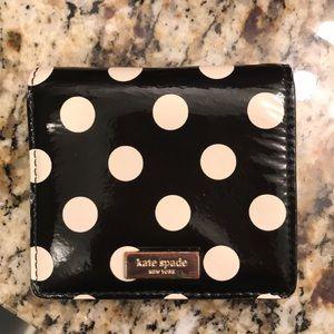 kate spade Bags - Kate Spade Polka Dot Small Wallet